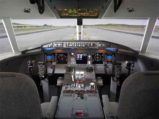 Flysimulator til Pilotuddannelsen hos centerAir