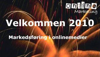 Velkommen til et nyt markeksførings år 2010